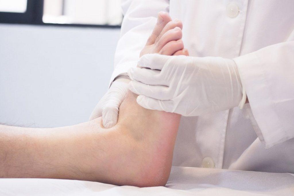Diabetische Fußpflege